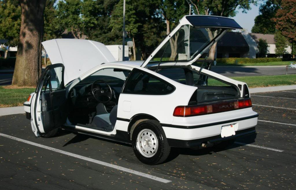 1991 honda crx mpg