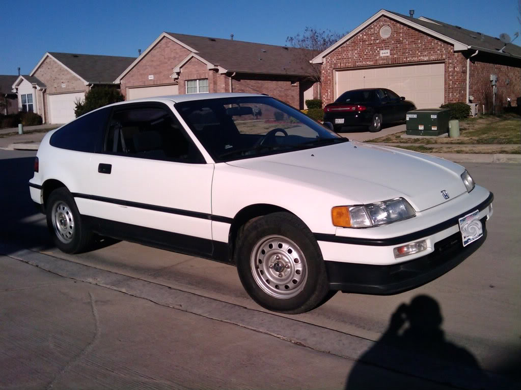 1990 Honda CRX HF - 78,000 Miles - Fuelly Forums