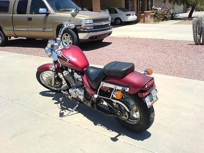 My Honda Shadow Vlx 600 Fuelly Forums
